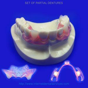 Set Partial Dentures
