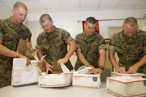 Opening Mail Military